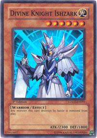 Divine Knight Ishzark - LODT-EN091 - Super Rare - 1st Edition