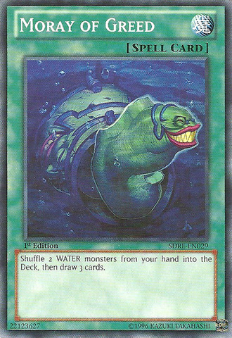 Moray of Greed - SDRE-EN029 - Common - 1st Edition