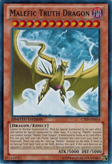 Malefic Truth Dragon - CT09-EN016 - Super Rare - Limited Edition - Promo