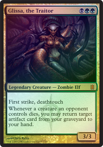 Oversized - Glissa, the Traitor
