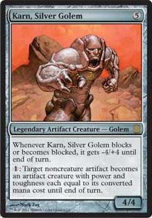 Oversized - Karn, Silver Golem