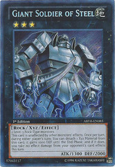 Giant Soldier of Steel - ABYR-EN085 - Secret Rare - 1st Edition