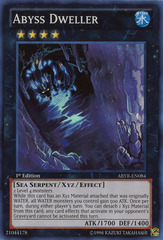 Abyss Dweller - ABYR-EN084 - Super Rare - 1st Edition on Channel Fireball