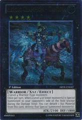 Heroic Champion - Gandiva - ABYR-EN042 - Ultimate Rare - 1st Edition