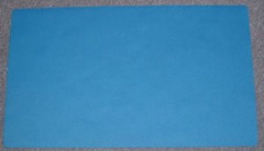 Blank Light Blue Playmat