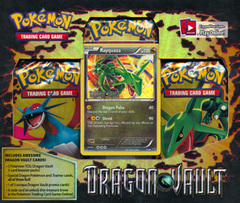Pokemon Dragon Vault Blister Pack - Rayquaza