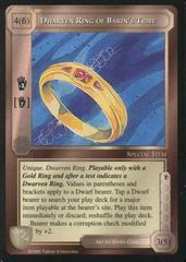 Dwarven Ring of Barin's Tribe [Blue Border]