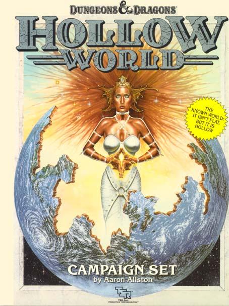D&D Hollow World Campaign Set Box 1054
