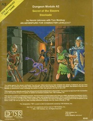 AD&D A2 - Secret of the Slavers' Stockade 9040