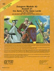 AD&D A3 - Assault on the Aerie of the Slave Lords 9041