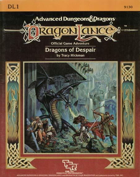 AD&D DL1 - Dragons of Despair 9130