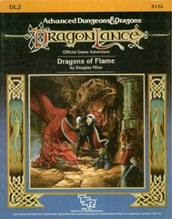 AD&D DL2 - Dragons of Flame 9132