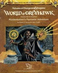 AD&D Greyhawk Mordenkainen's Fantastic Adventure 9112 WG5