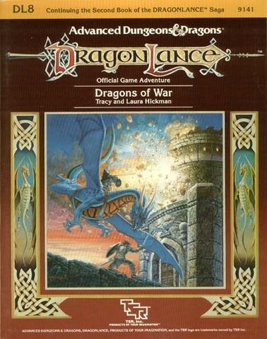 AD&D DL8 - Dragons of War 9141