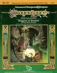 AD&D DL10 - Dragons of Dreams 9142