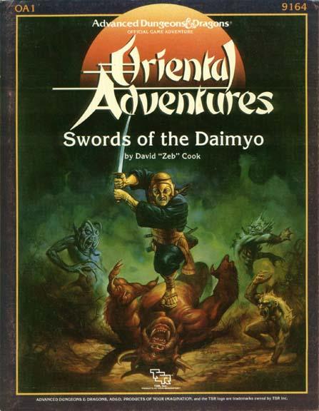 AD&D OA1 - Swords of the Daimyo 9186
