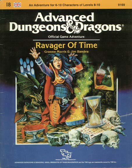 AD&D I8 - Ravager of Time 9169