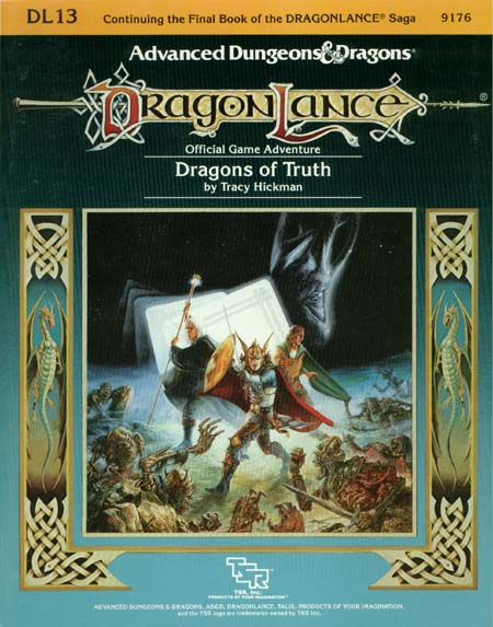 AD&D DL13 - Dragons of Truth 9176