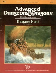 AD&D - N4 - Treasure Hunt 9185
