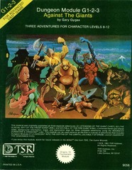 AD&D G1-2-3 - Against the Giants 9058