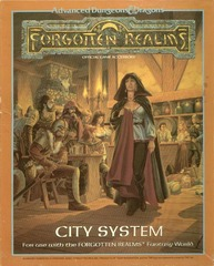 AD&D - City System 1040 Box Set