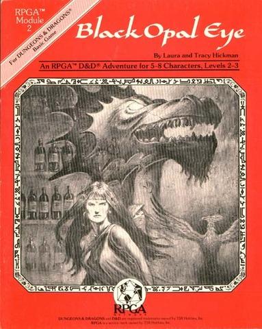 Black Opal Eye