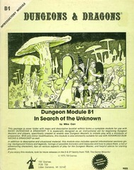 D&D B1 - In Search of the Unknown (1978) - 9023