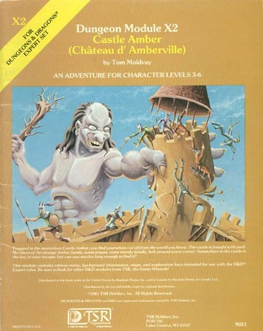 D&D X2 - Castle Amber (Chateau d'Amberville) 9051