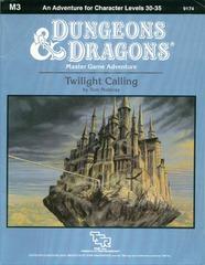 D&D M3 - Twilight Calling 9174