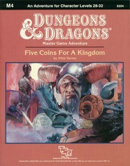D&D M4 - Five Coins for a Kingdom 9204
