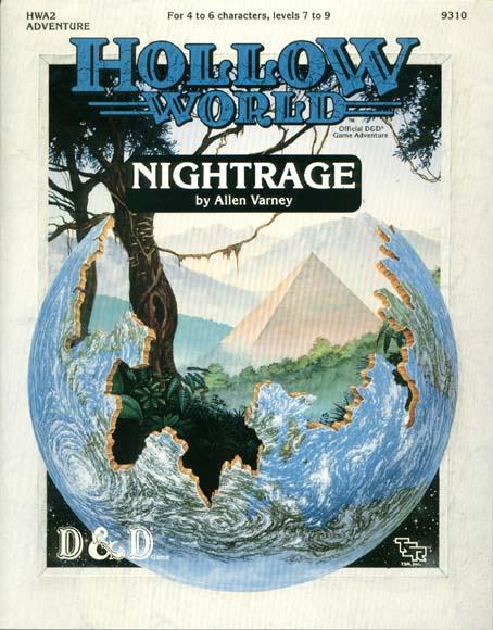 D&D Hollow World HWA2 Nightrage 9310
