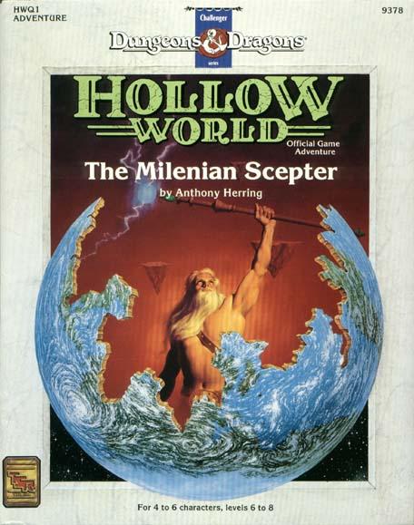 D&D Hollow World HWQ1 The Milenian Sceptre 9378