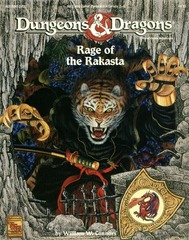 D&D - Rage of the Rakasta - 9435