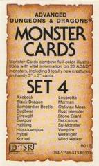 Monster Cards, Set 4