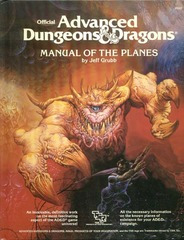 AD&D - Manual of the Planes 2022