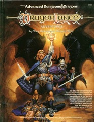 AD&D - Dragonlance Adventures #2021