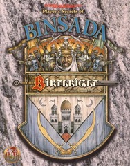 Birthright - Player's Secrets of Binsada 3119