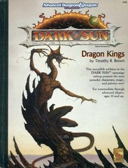 AD&D 2E Dark Sun Dragon Kings HC 2408