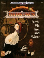 AD&D 2E Dark Sun Earth, Air, Fire and Water SC 2422