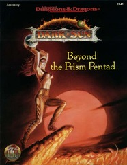AD&D Dark Sun Beyond the Prism Pentad SC 2441