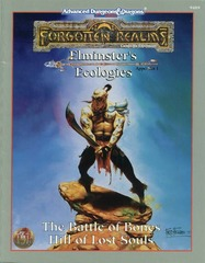 2nd Edition - Elminster's Ecologies Appendix I: The Battle of Bones & Hill of Lost Souls (New Old Stock)