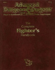 AD&D 2E PHBR1 Complete Fighter's Handbook 2110