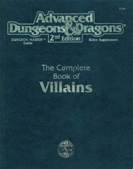 AD&D 2E Complete Book of Villains 2144
