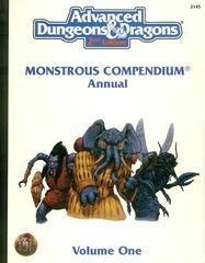 AD&D(2e) - Monstrous Compendium Annual Volume One 2145