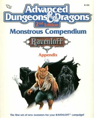 AD&D 2E Monstrous Compendium Ravenloft Appendix 2122