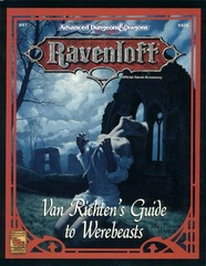 Ravenloft - Van Richten's Guide to Werebeasts 9416