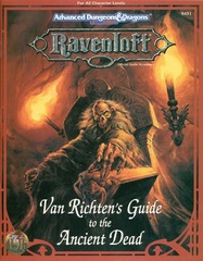 Ravenloft - Van Richten's Guide to the Ancient Dead 9451