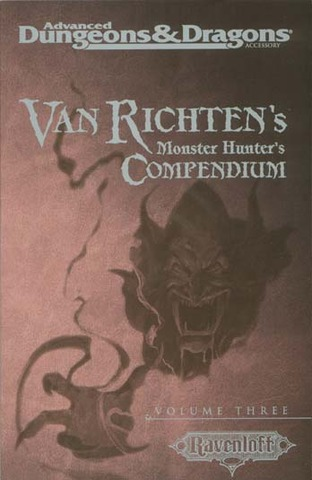 AD&D(2e) - Van Richten's Monster Hunter's Compendium Volume Three 11613