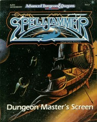 AD&D(2e) Spelljammer - Dungeon Master's Screen 9313