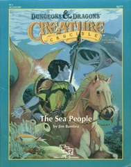 D&D PC3 - The Sea People 9277